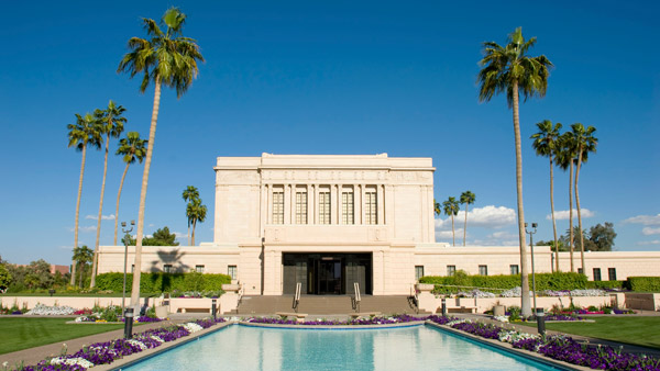 Mesa Arizona Temple.