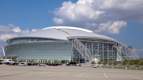 Cowboy's Stadium in Arlington, Texas.