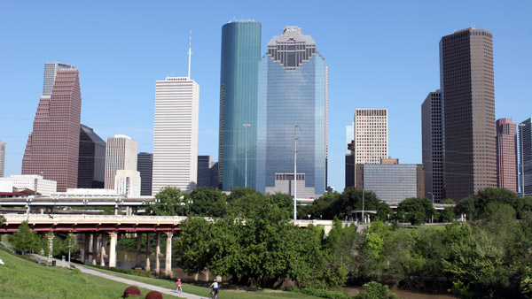 Houston, Texas Skyline.