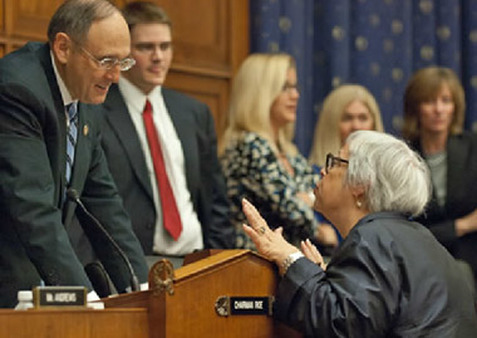 Assistant Labor Secretary Phyllis Borzi of EBSA testifying before Congress. (Photo: AP)