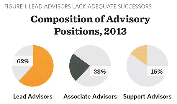 Composition of Advisory Positions, 2013
