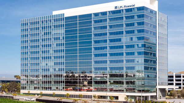 LPL's new energy efficient headquarters in San Diego.