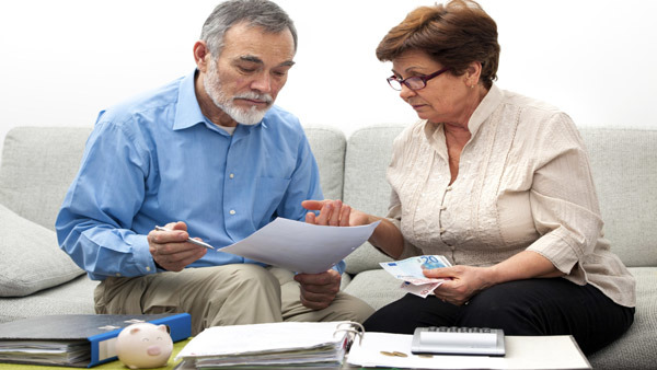 Advisors can help couples visualize retirement by using an income timeline.
