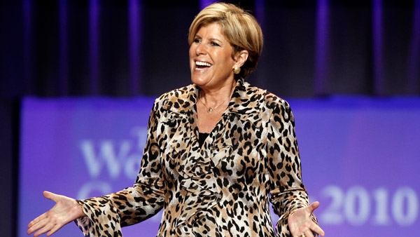 Suze Orman, ex-FA; bestselling how-to financial author and TV show host. (Photo: AP)