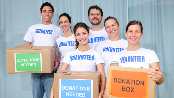 Bureau Of Labor Statistics data shows only 25.4% of Americans 16 and older volunteered in 2013.