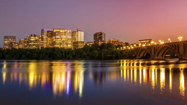 Arlington, Va., from Washington