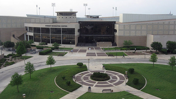 Texas A&M University Student Rec Center. (Photo: Wikimedia Commons)