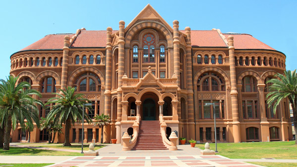 The Ashbel Smith building on the campus of the University of Texas Medical System. (Photo: Wikimedia Commons)