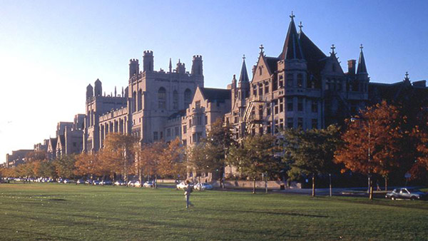 University of Chicago campus. (Photo: Wikimedia Commons)