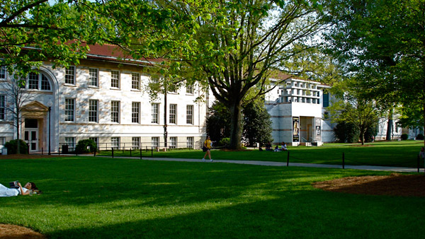 Main Quad on Emory's Druid Hills Campus. (Photo: Wikimedia Commons)