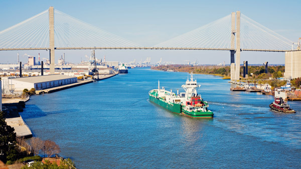 Port of Savannah.