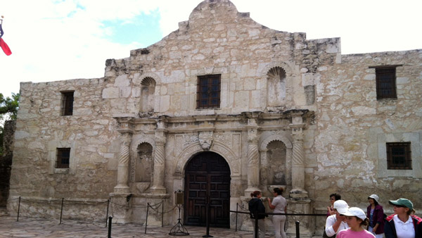 Alamo in San Antonio, Texas. (Photo: AP)