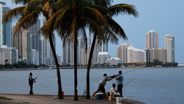 Miami, Florida Skyline. (Photo: AP)