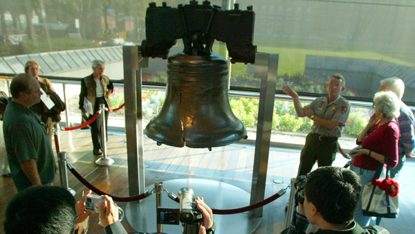Philadelphia's Liberty Bell. (Photo: AP)