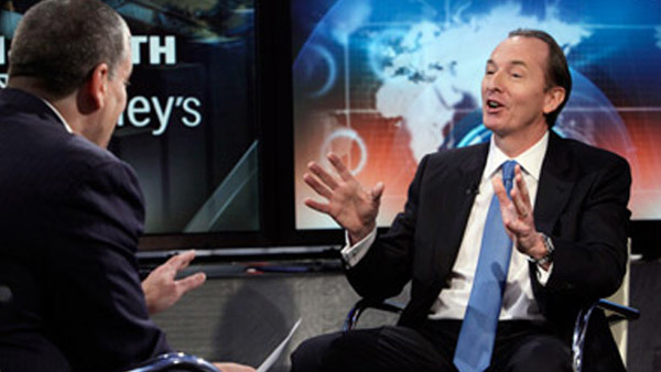 Morgan Stanley CEO James Gorman. (Photo: AP)