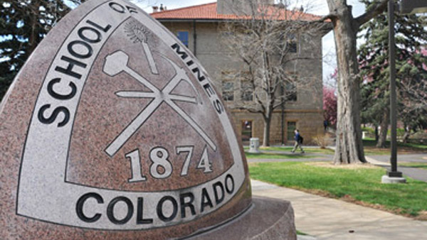 Colorado School of Mines sign. (Photo courtesy: Colorado School of Mines)