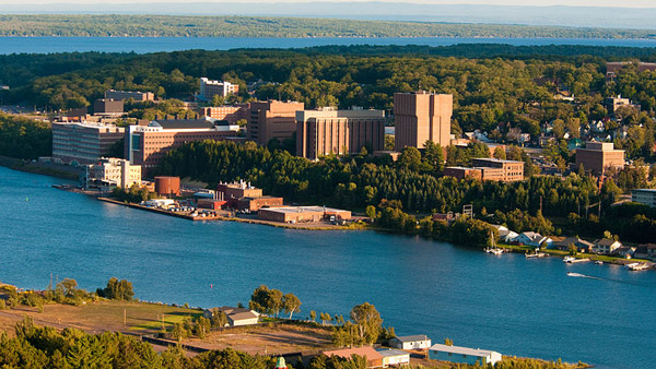 Michigan Tech Campus (Photo: Wikimedia Commons)