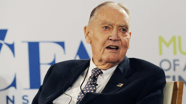 John Bogle will advise the Best Practices Board. (Photo: Bloomberg)