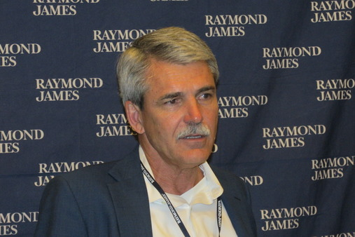 CEO Paul Reilly at the '14 RJFS National Conference