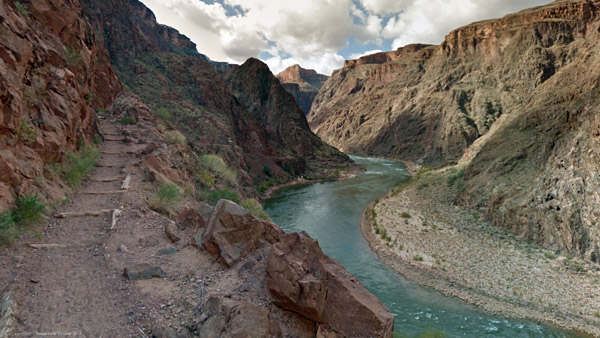 Grand Canyon and Colorado River in Arizona. (Photo: AP)