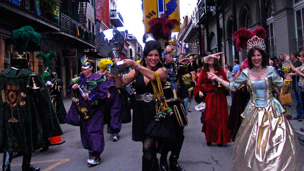 Mardi Gras in New Orleans. (Photo: AP)