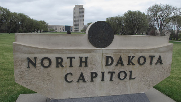 State Capitol in Bismarck. (Photo: AP)