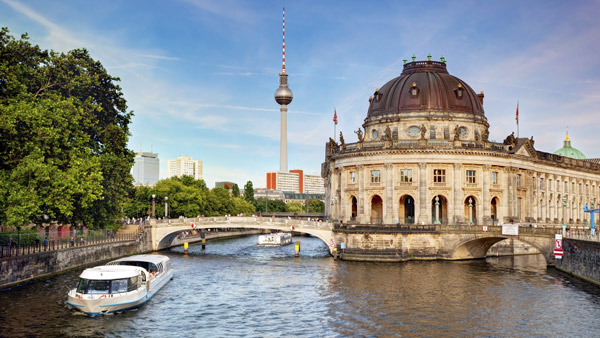 The Bode Museum in Berlin.