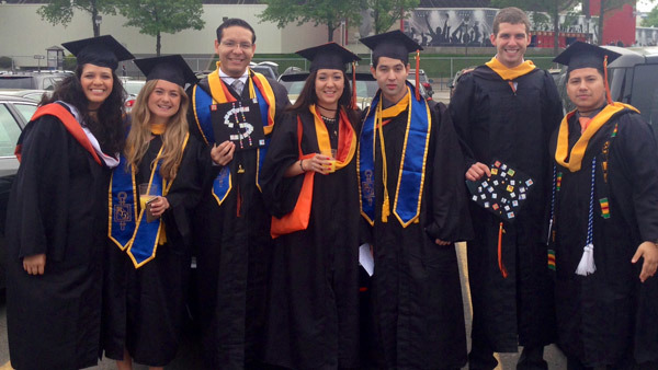 The future of the profession: 2014 graduates of the financial planning program at William Paterson University in Wayne, N.J.