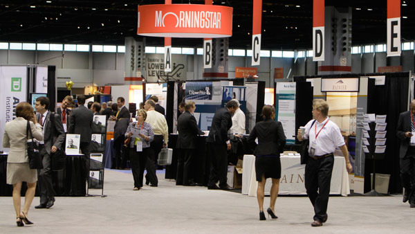 Conference floor at one of Morningstar's annual gatherings in Chicago. (Photo: AP)