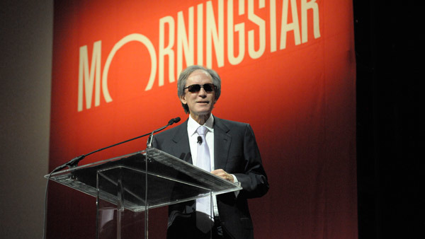 """When you're 70 years old, you need props,"" Bill Gross said at the Morningstar conference. (Photo: Jim Tweedie)"