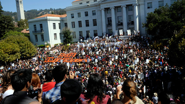 Sproul Hall at the University of California Berkeley (Photo: AP)