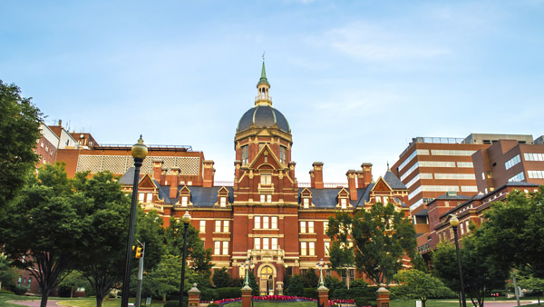 Johns Hopkins University in Baltimore, Md.