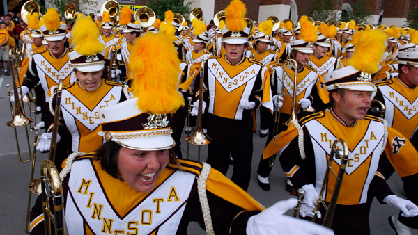 University of Minnesota marching band. (Photo: AP)
