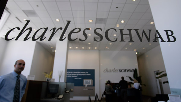 Schwab Office Sign (Photo: AP)