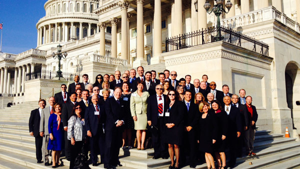 FPA members and staffers gathered in Washington on Tuesday to lobby Congress.