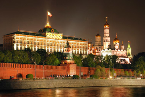 The Kremlin in Moscow.