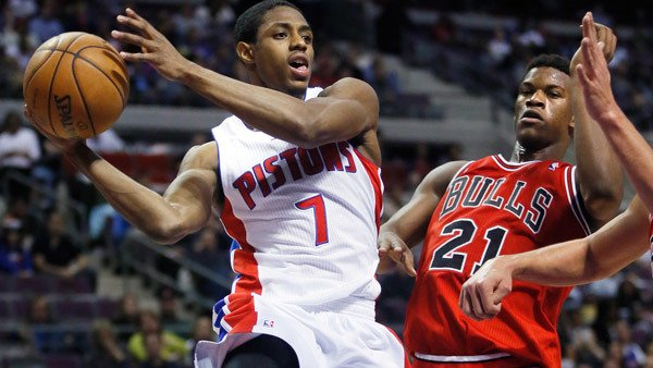 Then-Detroit Pistons guard Brandon Knight (left) had investments with the advisor FINRA banned. (Photo: AP)