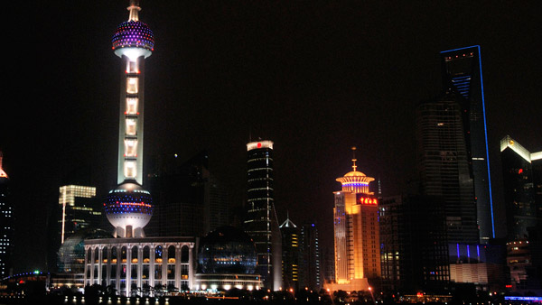 Oriental Pearl Tower in Shanghai. (Photo: AP)