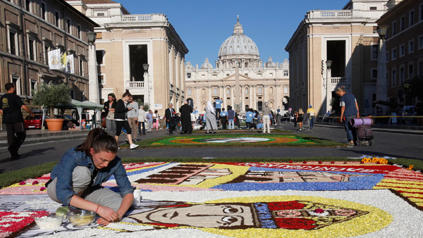 St. Peter's Square in Vatican City. (Photo: AP)