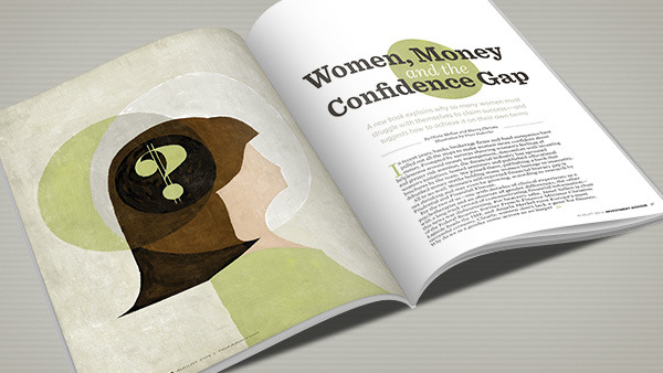 Women sometimes set themselves up to fail when it comes to money and confidence. (Illustration: Traci Daberko)