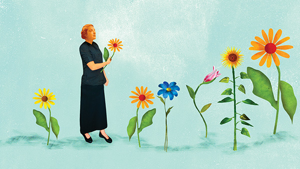 The Treasury Department and the IRS have made it easier for plan participants to invest in longevity annuities. (Illustration: Ellen Weinstein)