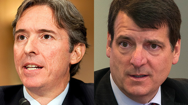 Carlo di Florio (left), and Norm Champ (right), expressed concerns about variable annuities. (Di Florio Photo: Bloomberg via Getty Images; Champ Photo: Adrees Latif/Reuters/Corbis)