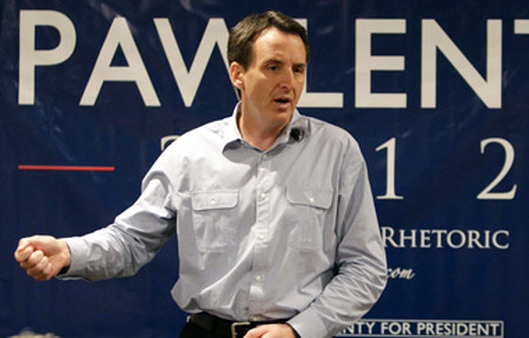 Tim Pawlenty on the presidential campaign trail in 2012. (Photo: AP)