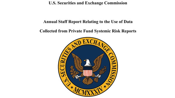 The SEC has filed its annual report to Congress on data collected from Form PF for private fund advisors, including hedge funds.