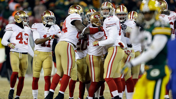 The NFL's 49ers have struck a deal with robo-advisor Wealthfront (Photo: Associated Press)