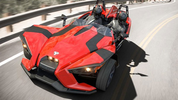 Polaris Slingshot Three-Wheel Motorcycle