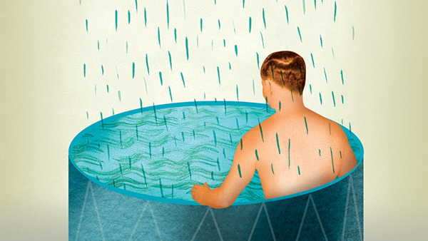 Savers who kept up contributions during the financial crisis are seeing the benefits. (Illustration: Ellen Weinstein)