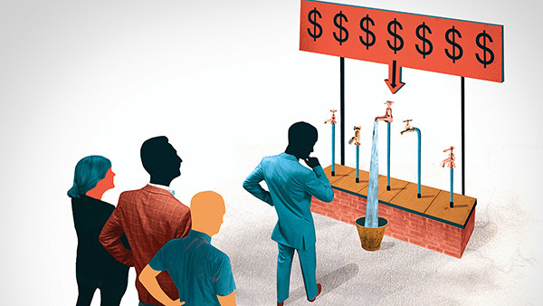 Institutional investors are following retail investors into liquid alts. Why? (Illustration: © PW Illustration/Ikon Images/Corbis)