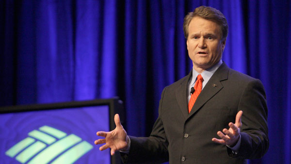 Brian Moynihan, President and CEO of Bank of America.