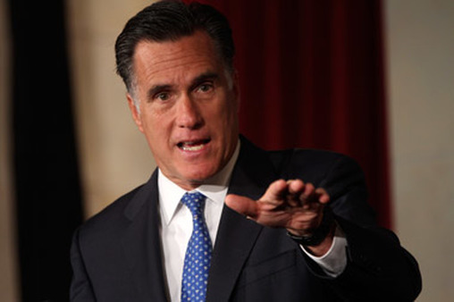 Mitt Romney campaigning for president in 2012. (Photo: AP)